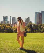 Look da Lu: listras no Central Park