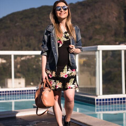 Look da Lu: vestido e tênis