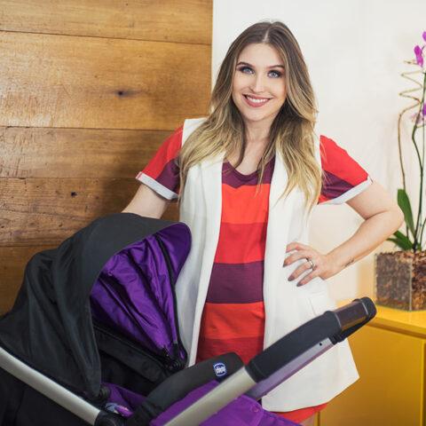 Escolhendo o carrinho de bebê