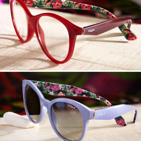 Novidades da Vogue Eyewear pro verão