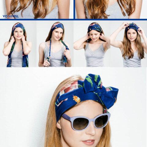 Óculos + lenço = acessórios de verão!