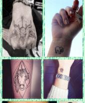 Pra inspirar: Tattoos animais