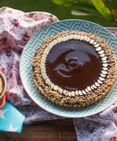 Torta de Paçoquinha com Chocolate – O Chef e a Chata
