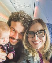 Viagem internacional com bebê de cinco meses