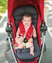 Comparando meus dois carrinhos de bebê