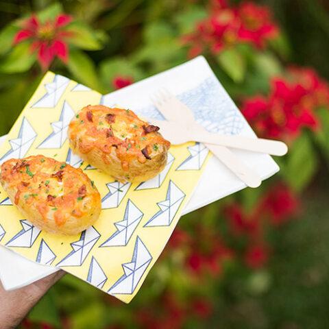 Batatas ao forno com ovo e bacon – O Chef e a Chata