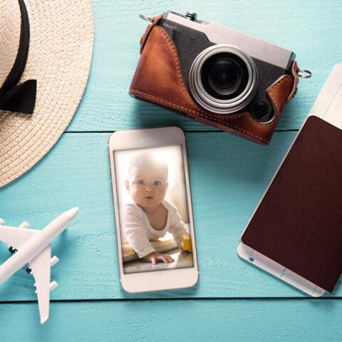 Viajando sem os filhos