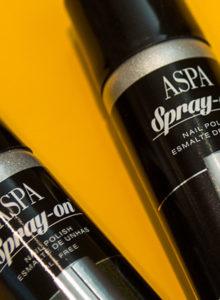 Chatômetro: Esmalte em spray Aspa