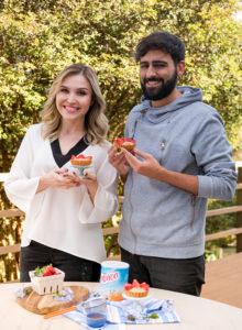 Tortinhas de morango sem lactose – O Chef e a Chata
