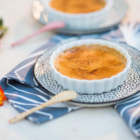 Creme brulée de doce de leite | O Chef e a Chata
