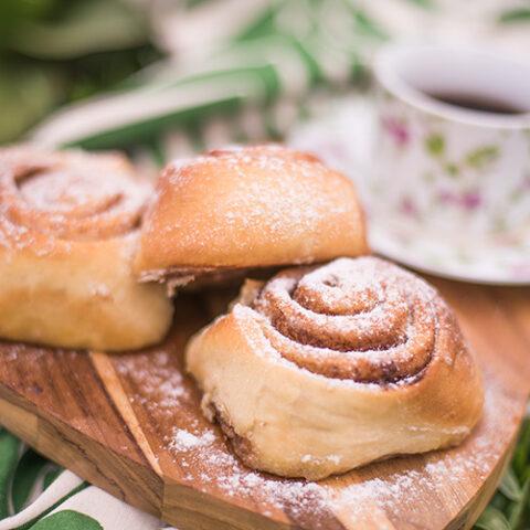 Cinnamon rolls – O Chef e a Chata