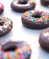 Donuts de chocolate – O Chef e a Chata