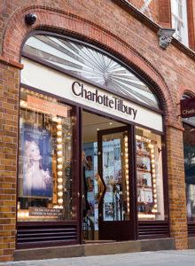 A loja da Charlotte Tilbury em Covent Garden