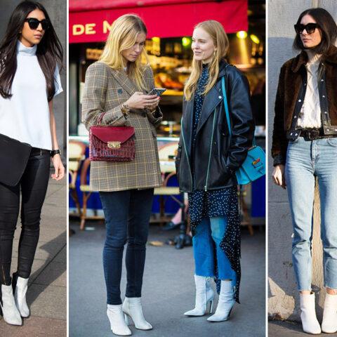Bota Branca: como usar a tendência de Outono/Inverno
