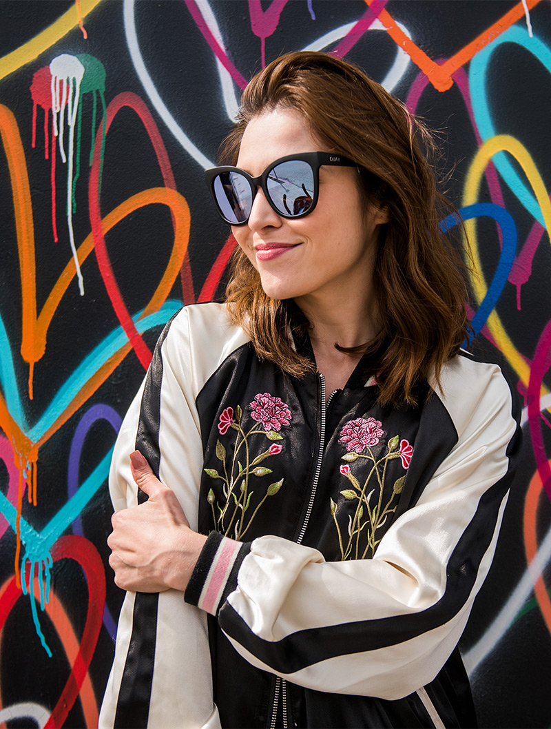 147f84874f8 Eu me apaixonei por essa jaqueta e a legenda com referência em La La Land  foi irresistível quando postei essa foto no Instagram!