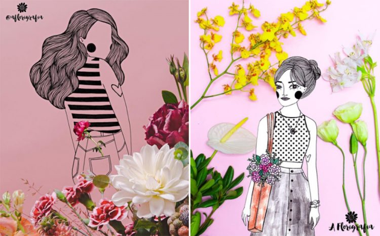 ilustradores florigrafia