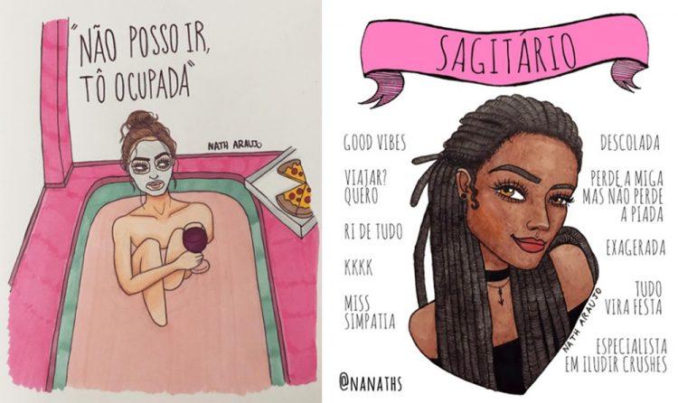 ilustradores - nath araujo