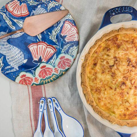Quiche de alho poró deliciosa! | O Chef e a Chata