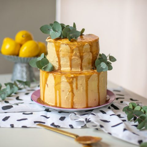O Chef e a Chata: como fazer bolo de caramelo salgado e castanha de caju