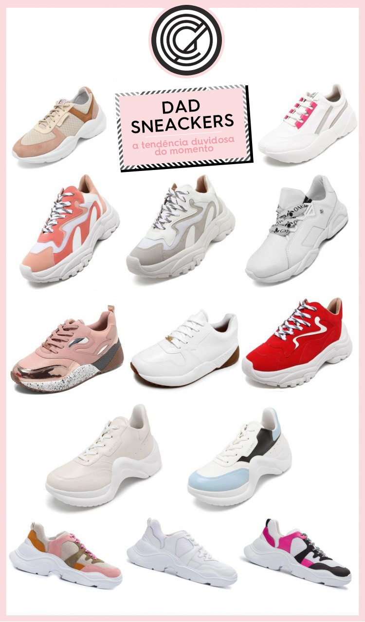 8e9f37f006b Dad Sneakers  a tendência duvidosa do momento! - Lu Ferreira