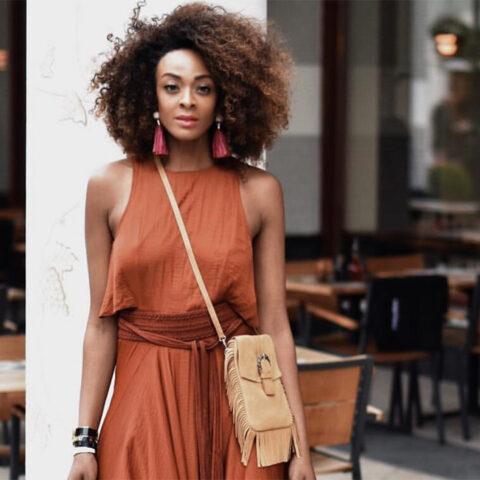 Você consegue usar marrom nos seus looks?