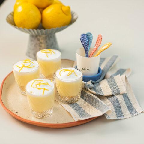 Como fazer verrine de limão siciliano | O Chef e a Chata