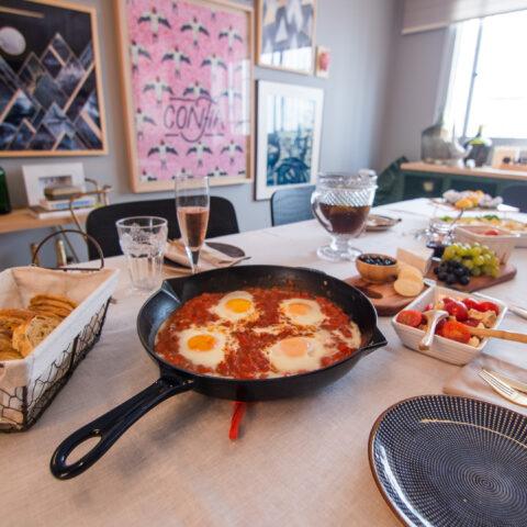 Chata na Cozinha: como fazer um brunch rápido em casa!