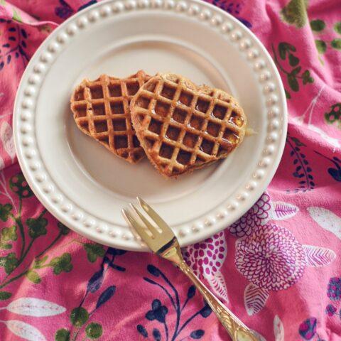 Receita fácil: waffles integrais