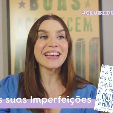 Live #ClubedoLivroCDG: Todas as suas imperfeições