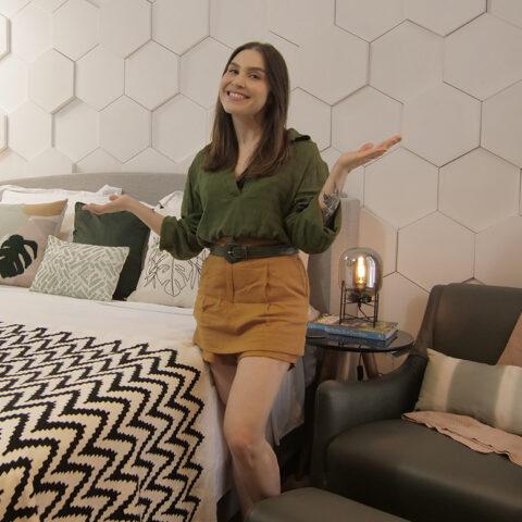 A nova decoração do quarto da Lu