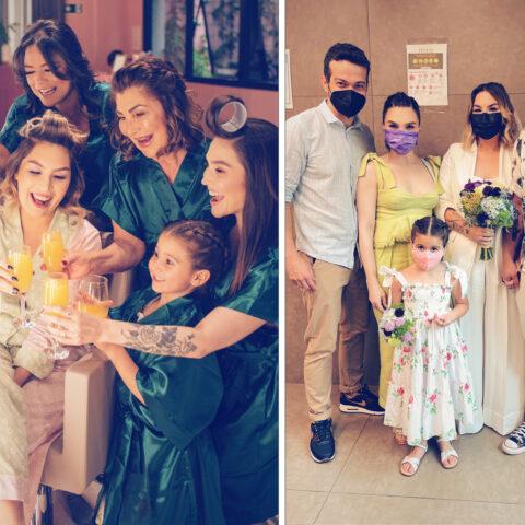Casamento na pandemia: minha irmã casou!